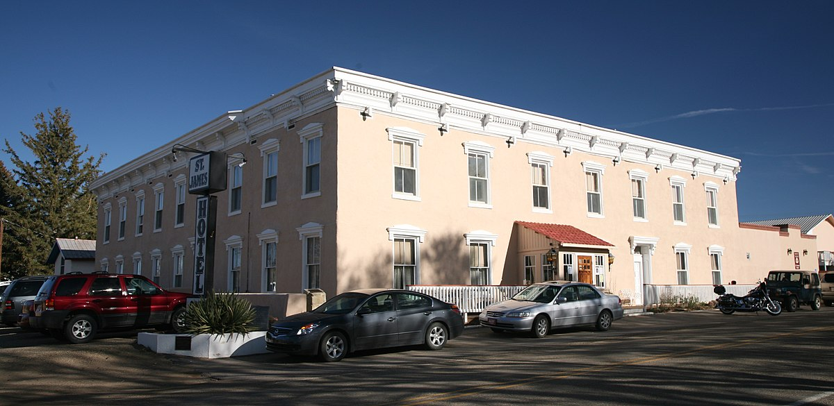 St. James Hotel (Cimarron, New Mexico) - Wikipedia