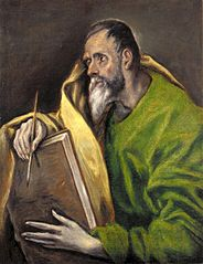 St. Luke of El Greco