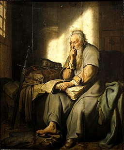 St. Paul in Prison by Rembrandt - Staatsgalerie - Stuttgart - Germany 2017