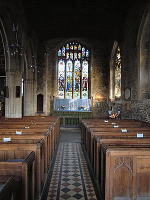 Church of St Andrew, Biggleswade - The Lady Chapel aisle