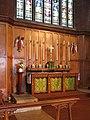 St Barnabas, St Barnabas Road, Walthamstow, London E17 - High altar - geograph.org.uk - 1704575.jpg
