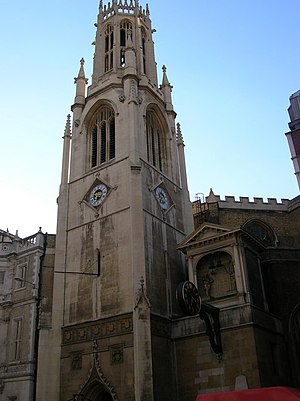 John Shaw Sr. - St Dunstan in the West, Fleet Street, London