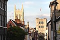 St Edmundsbury Cathedral and the Norman Tower - geograph.org.uk - 1385913.jpg