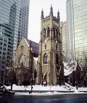 William Tutin Thomas - St. George's Anglican Church (Montreal)