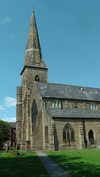 St James Church, Gorton 2015 St James Church Gorton.jpg