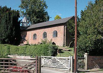 Guilden Sutton - Image: St John's Church, Guilden Sutton