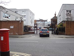 St John's Wood Barracks - Image: St John's wood Barracks geograph.org.uk 769505