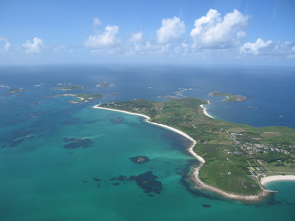 St Martins - aerial photo