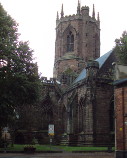 St Marys Church, Nantwich Church in Cheshire, England