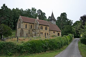 Holmbury St Mary - Image: St Mary the Virgin, Holmbury St Mary