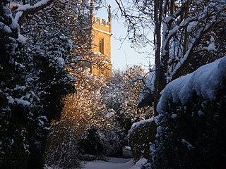 Great Comberton village in the United Kingdom