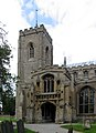 St Peter, Walpole St Peter, Norfolk - Tower and porch - geograph.org.uk - 321030.jpg
