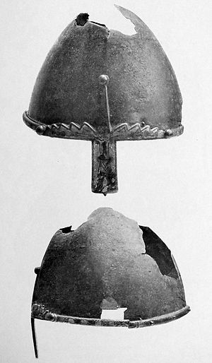Nasal helmet - Helmet of Saint Wenceslaus, Prague
