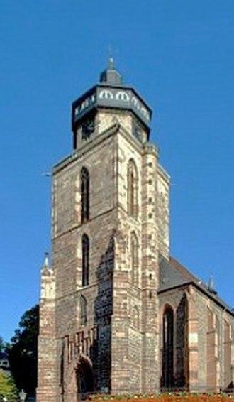 Homberg (Efze) - St. Mary's