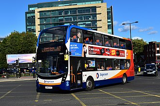 Stagecoach North East - Image: Stagecoach Bus