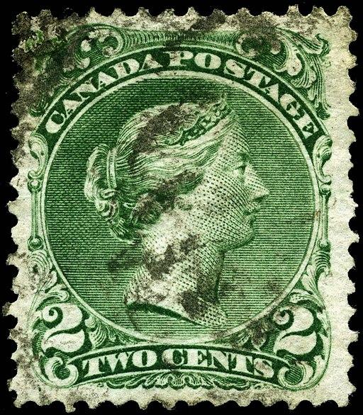Stamp Canada 1868 2c