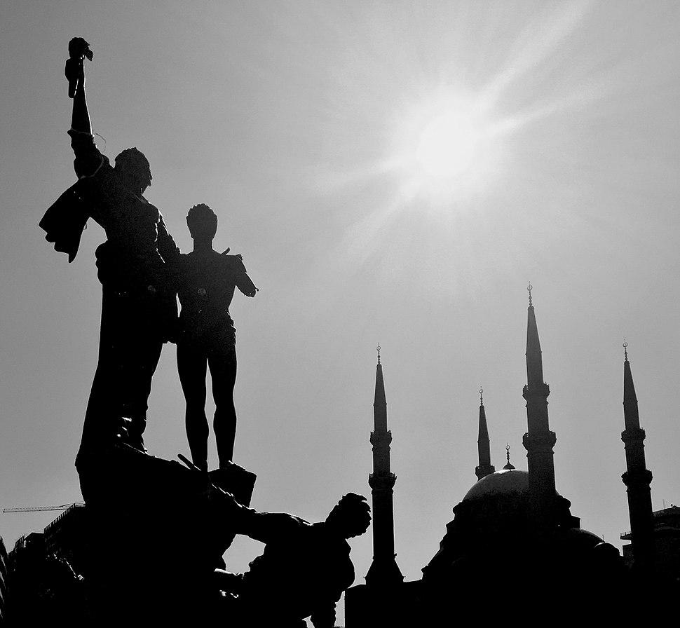 Statue des martyrs