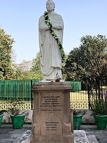 Statue of Angarika Dharamapalan in Sarnath