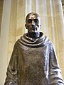 Statue of St Aldhelm in Sherborne Abbey.jpg