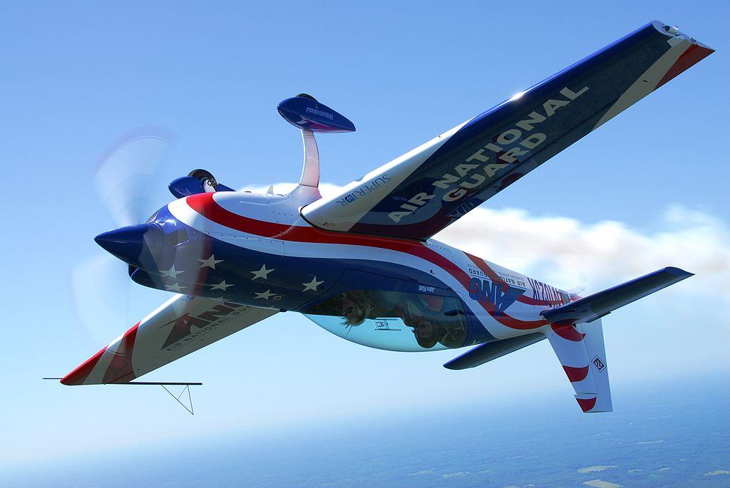 Stunt plane Vegas