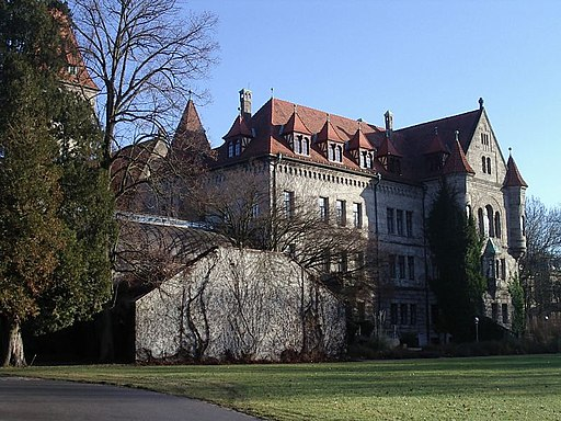 Stein near Nuremberg Castle Faber Castell f sw