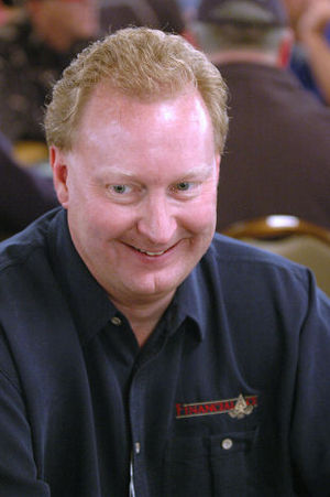 Steve Dannenmann - Steve Dannenmann at the 2005 WSOP
