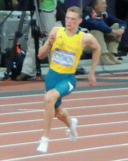 Steven Solomon Australian sprint athlete
