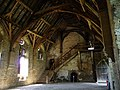 Stokesay Castle, the great hall - geograph.org.uk - 1507219.jpg
