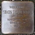 Stolperstein Bocholt Niederbruch 20 Siemon Blumenthal.jpg