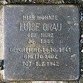 Stolperstein Flotowstr 10 (Hansa) Luise Grau.jpg