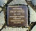 Stolperstein Fredy Hirsch - Aachen (3).JPG
