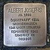 Stolperstein für Albert Josephs