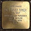 Stolperstein Kleve Hagsche Straße 66-68 Ernst Spier.jpg