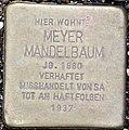 Stolperstein Remscheid Palmstraße 10 Meyer Mandelbaum.jpg