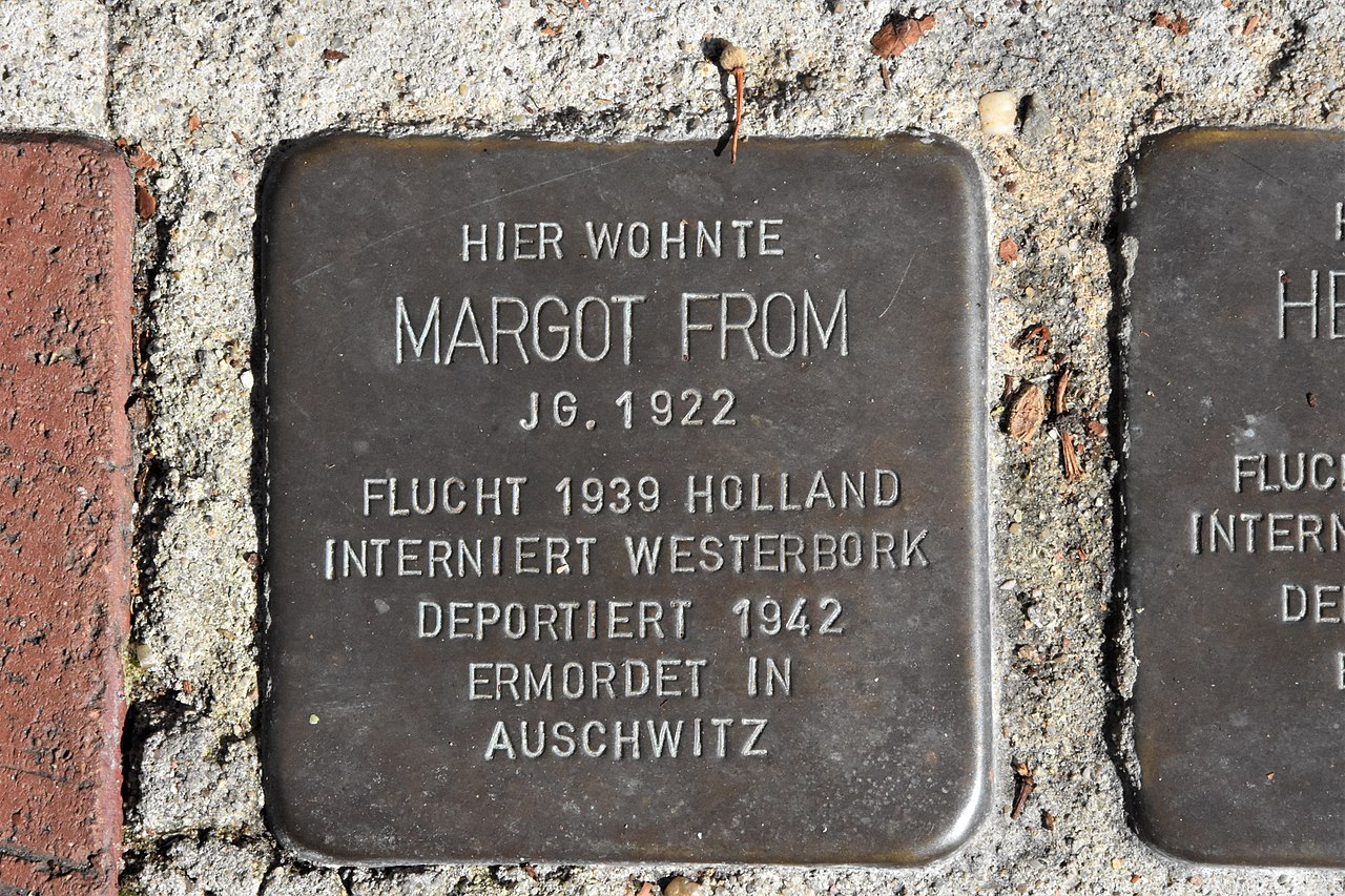 Stolperstein für Margot From