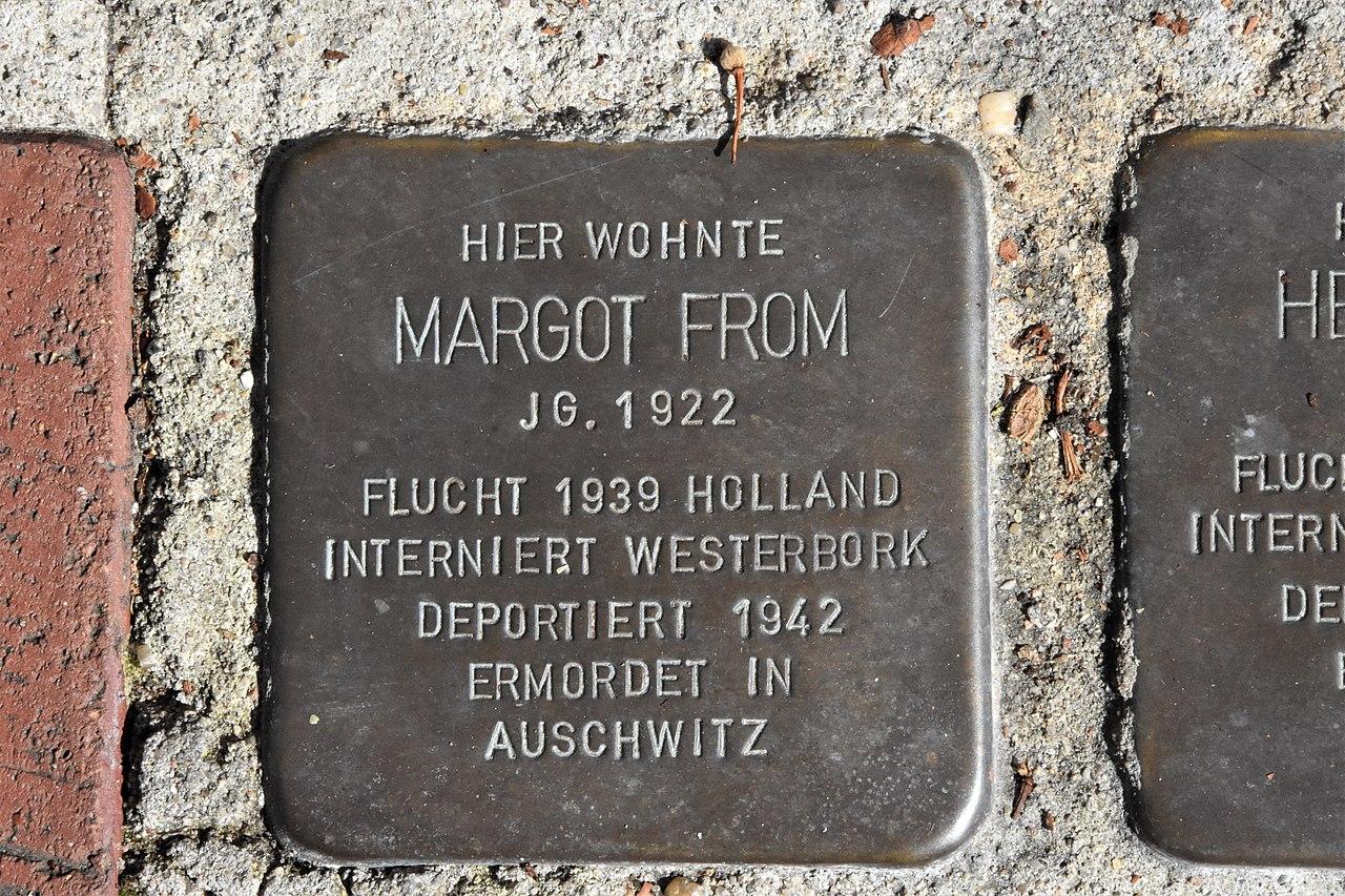 Stolperstein für Margot From