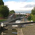 Stop Lock and Towpath Bridge, Hawkesbury Junction, Oxford Canal - geograph.org.uk - 373811.jpg