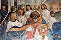 Storie di s. benedetto, 34 sodoma - Come Benedetto fa portare il corpo di Cristo sopra al monaco che la terra non voleva ricevere 04.JPG