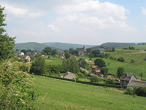 La Gleize - The village and its Romanesque church
