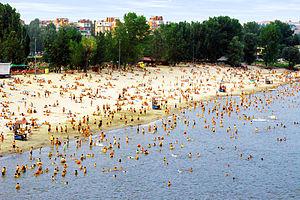 Štrand - Štrand - Beach on the Danube River