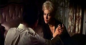 Strangers When We Meet (film) - Kirk Douglas and Kim Novak