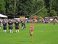Strathdon, Tossing the caber at The Lonach Games and a mystery solved - geograph.org.uk - 936060.jpg