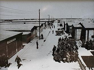 Stalag - Main street in Stalag IV-B