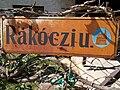 Street sign. - Rákóczi St., Budakeszi, Hungary.jpg