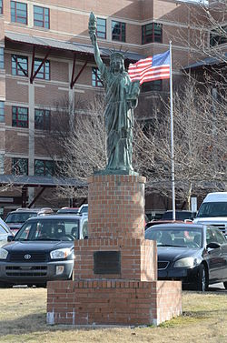 Strengthen the Arm of Liberty Monument, Fayetteville, AR.JPG