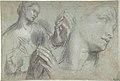 Studies of a Man's Head and of His Hands MET DP800154.jpg