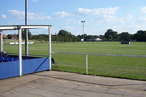 Midland Football Alliance - The Beehive, home of Studley, where the average attendance in the 2007–08 season was 79