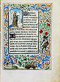 Stundenbuch der Maria von Burgund Wien cod. 1857 Heilige Barbara.jpg
