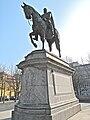 Stuttgart Karlsplatz Kaiser-Wilhelm-Denkmal als Reiterstatue 1.jpg