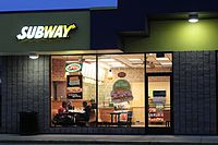 Subway restaurant Pittsfield Township Michigan.JPG